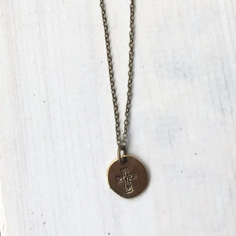 Short Necklace - Cross/Horseshoe