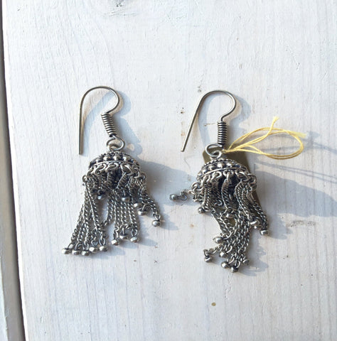 Dangle Earrings - Silver