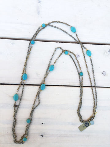 Multi Strand Long Necklace