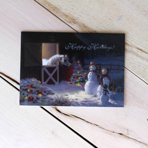 Happy Holiday Cards by Mary Haggard