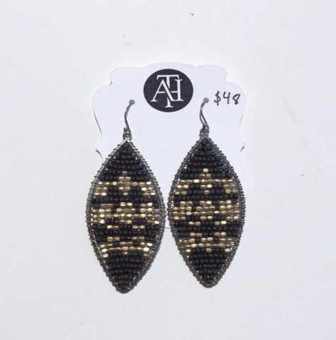 Beaded Dangle Earrings