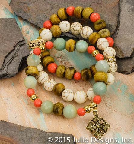 Denmin Beaded Bracelets - Sold Individually