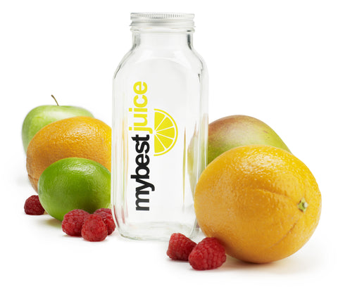 BPA-Free Glass Juice/Smoothie Jar