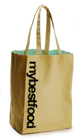 mybestfood Eco-Friendly Grocery Tote