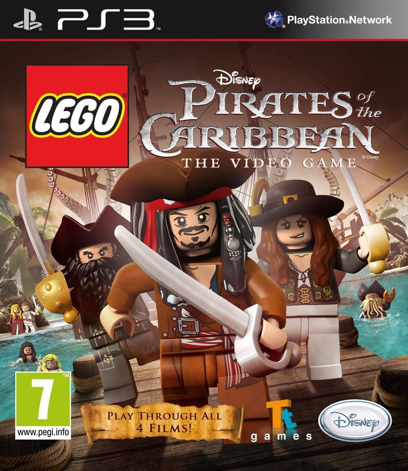 Shamy Stores LEGO Pirates of the Caribbean -The Video Game (PS3) PS3 Game ShamyStores ShamyStores egypt