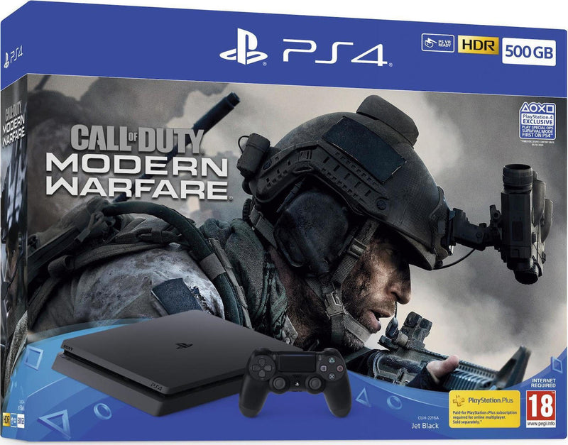 Shamy Stores PlayStation 4 (PS4) Slim 500G Call of Duty Modern Warfare Bundle PS4 Console Sony Sony egypt