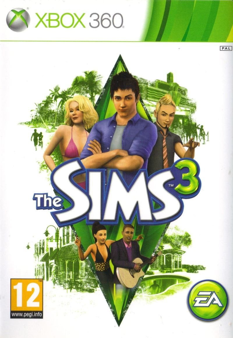 Buy The Sims 3 XBOX 360 Game in Egypt - Shamy Stores