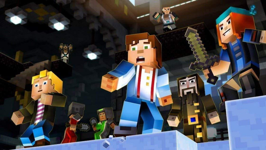 Buy Minecraft Story Mode (Switch) Nintendo Switch in Egypt - Shamy Stores