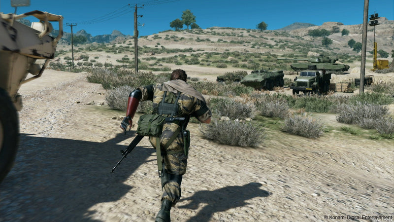 Buy Metal Gear Solid V The Phantom Pain (XBOX ONE) XBOX ONE in Egypt - Shamy Stores