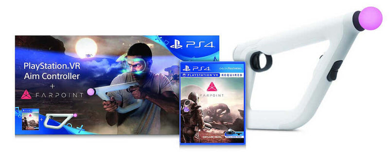 Buy Aim Controller + Farpoint (PS4) a PS4 Game from ShamyStores - Shamy Stores