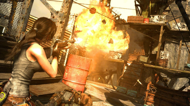 Buy Tomb Raider Defrinitive Edition (PS4) a PS4 Game from Square Enix - Shamy Stores