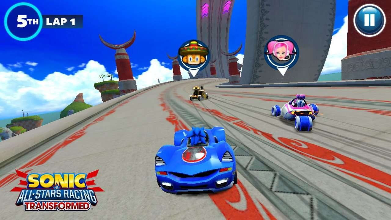 Buy Sonic & Sega All-Stars Racing (PS3) PS3 Game in Egypt - Shamy Stores
