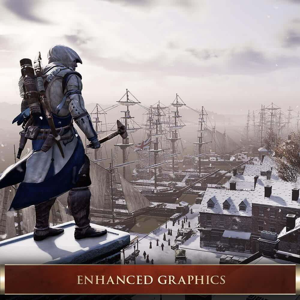 Buy Assassin's Creed III Remastered (PS4) PS4 Game in Egypt - Shamy Stores