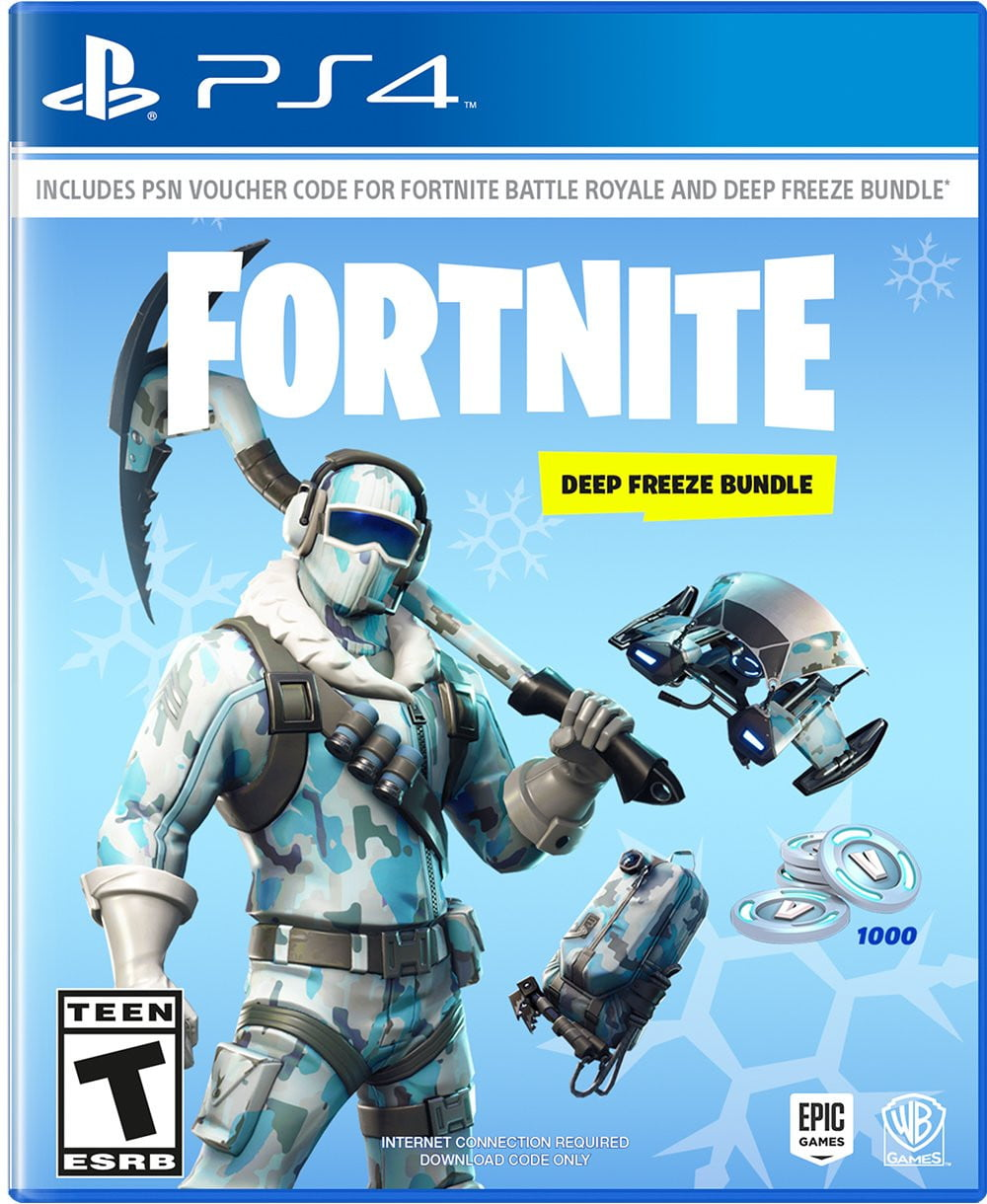 Buy Fortnite: Deep Freeze Bundle(PS4) PS4 Game in Egypt - Shamy Stores