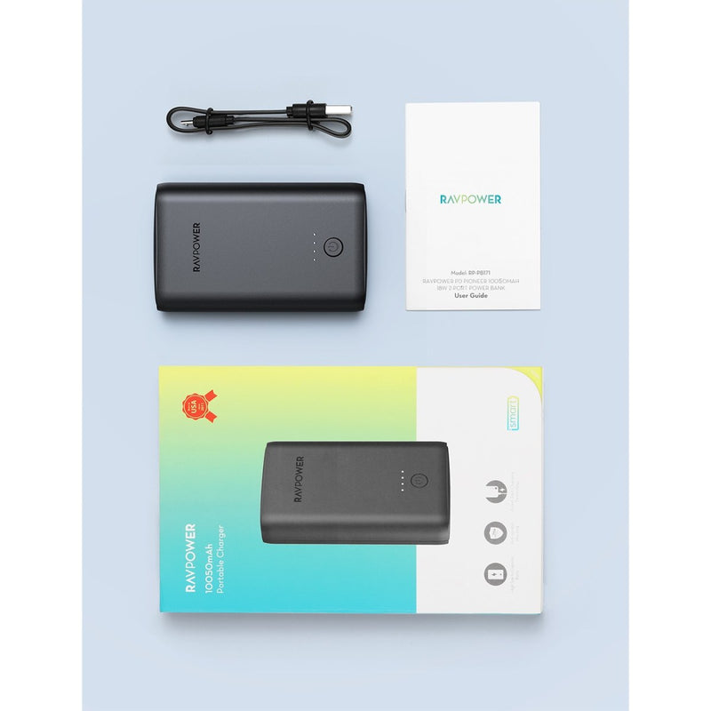RAVPower Turbo 10050  Power Bank 2 Ports