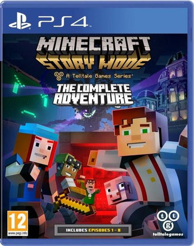 Minecraft: Story Mode The Complete Adventure - ShamyStores