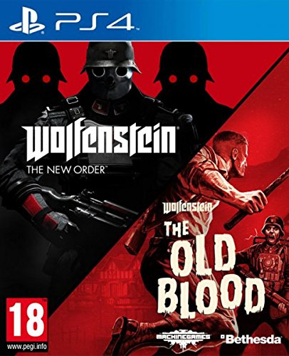 Shamy Stores Wolfenstein The New Order and The Old Blood Double Pack (PS4) Used PS4 Game Bethesda Bethesda egypt