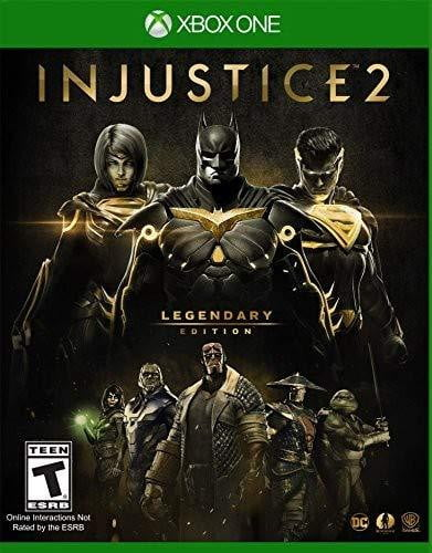 Shamy Stores Injustice 2 Legendary Edition (XBOX ONE) XBOX ONE Warner Bros. Warner Bros. egypt