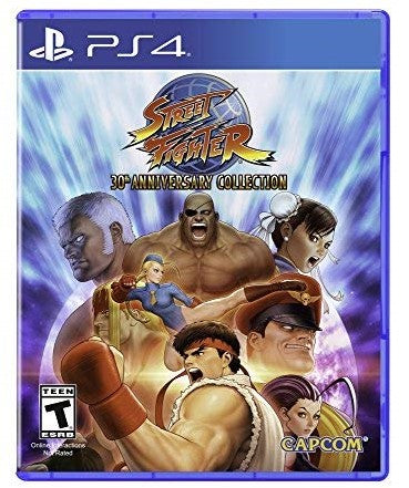 Shamy Stores Street Fighter 30th Anniversary Collection (PS4) PS4 Game Capcom Capcom egypt