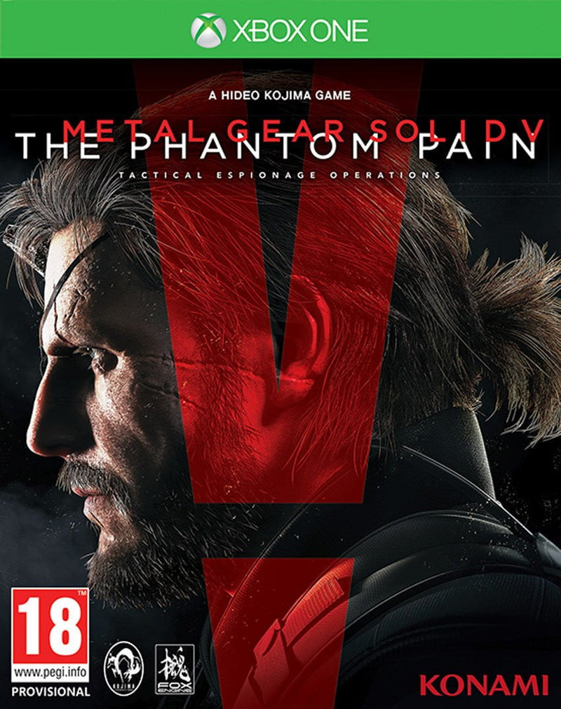 Shamy Stores Metal Gear Solid V The Phantom Pain (XBOX ONE) XBOX ONE Konami Konami egypt