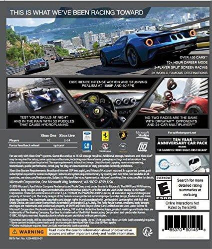 Buy Forza Motorsport 6 (XBOX ONE) XBOX ONE in Egypt - Shamy Stores
