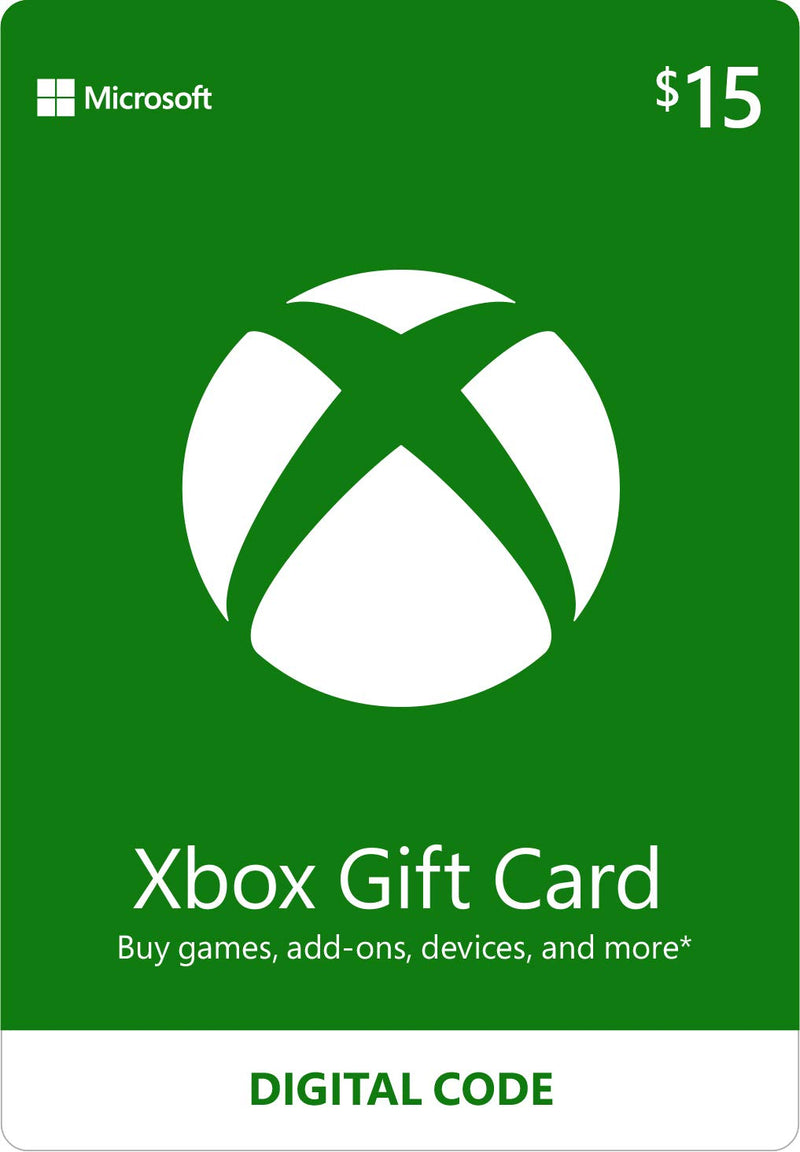 15$ Xbox Gift Card - Shamy Stores