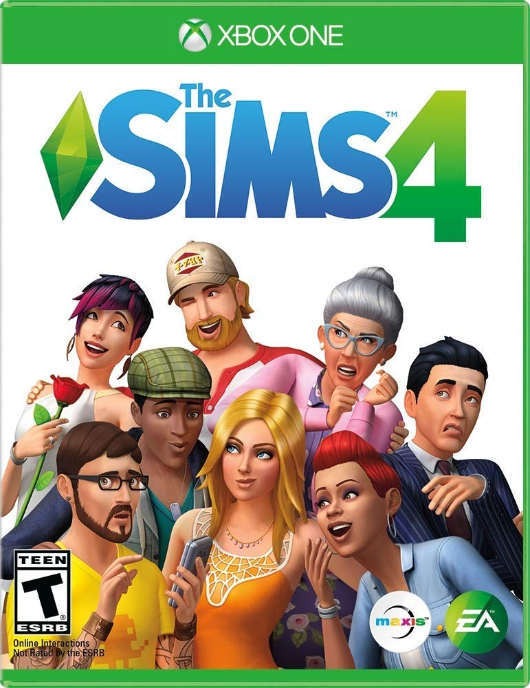 Shamy Stores The sims 4 (Xbox one) XBOX ONE Electronic Arts Electronic Arts egypt