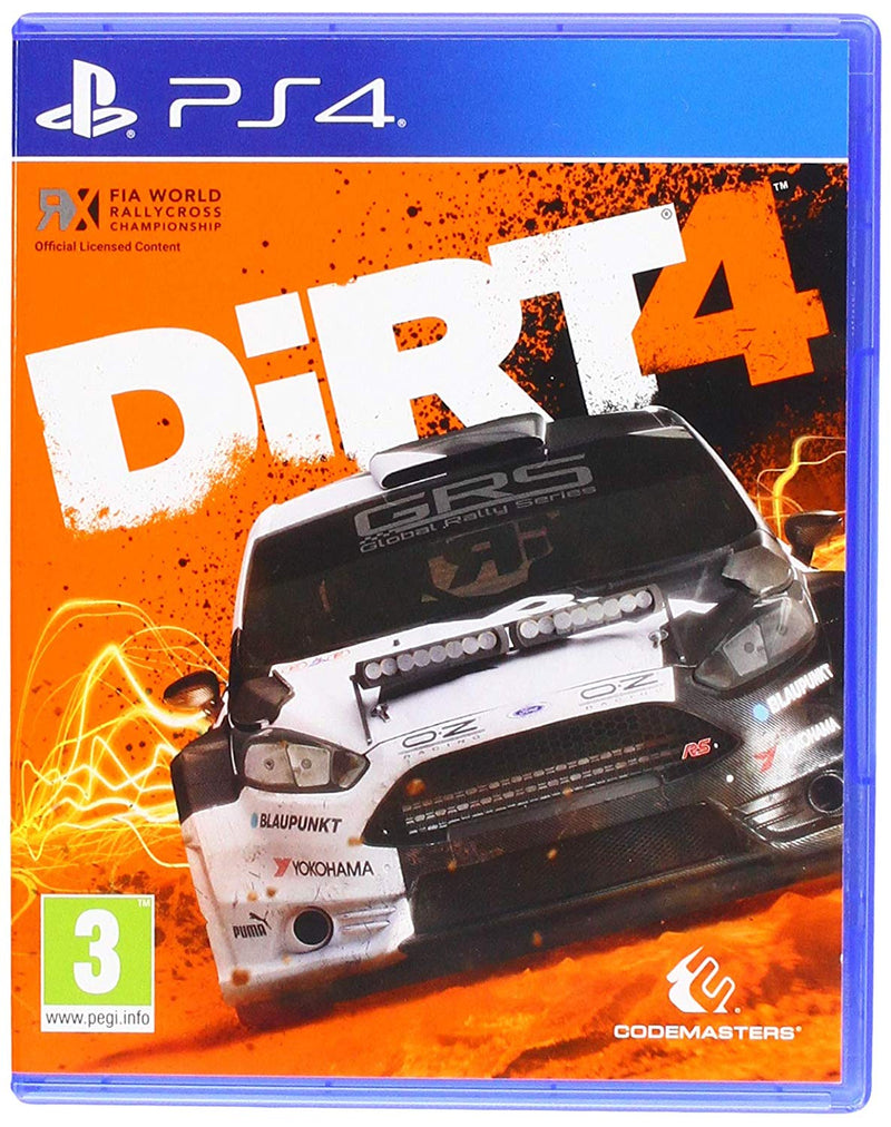 Dirt 4 (PS4) Used