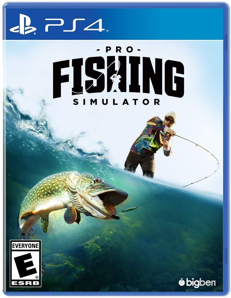 Shamy Stores Pro Fishing Simulator (PS4) PS4 Game Maximum Games Maximum Games egypt