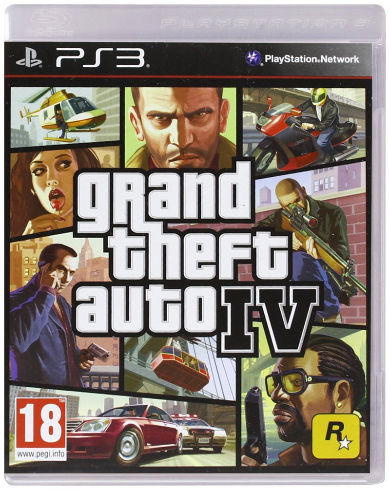 Shamy Stores GTA IV (PS3) PS3 Game RockStar RockStar egypt