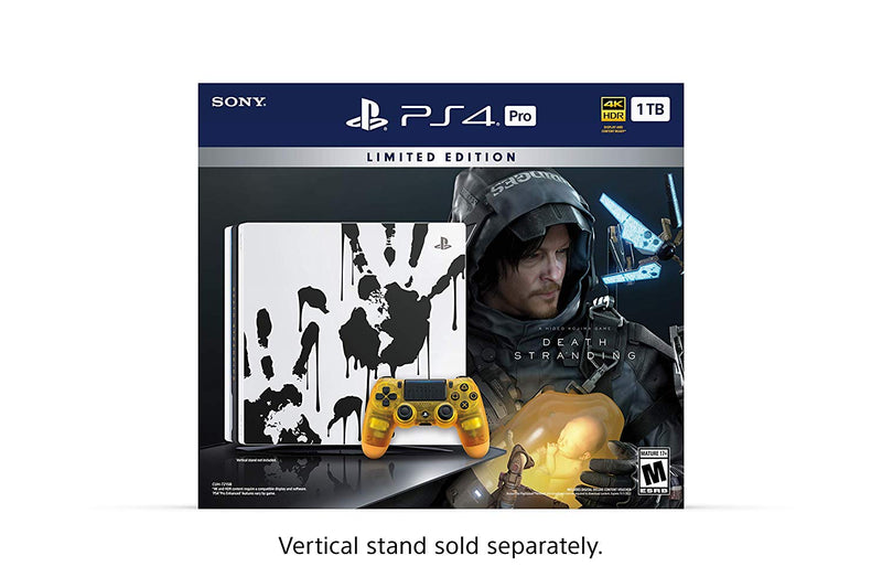 Shamy Stores PlayStation 4 (PS4) Pro 1TB Death Stranding Collector's Edition PS4 Console Sony Sony egypt