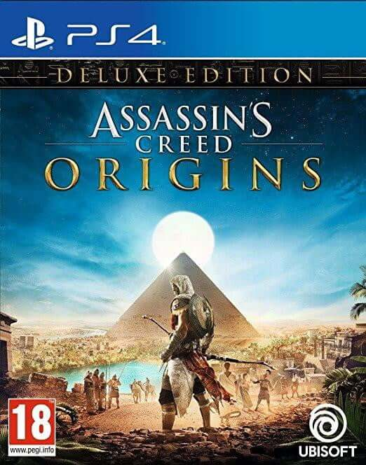 Buy A.C Origins (Deluxe Edition) (Ar)(PS4) a PS4 Game from ShamyStores - Shamy Stores