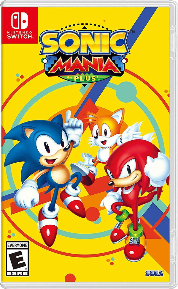 Sonic Mania Plus (Nintendo Switch)