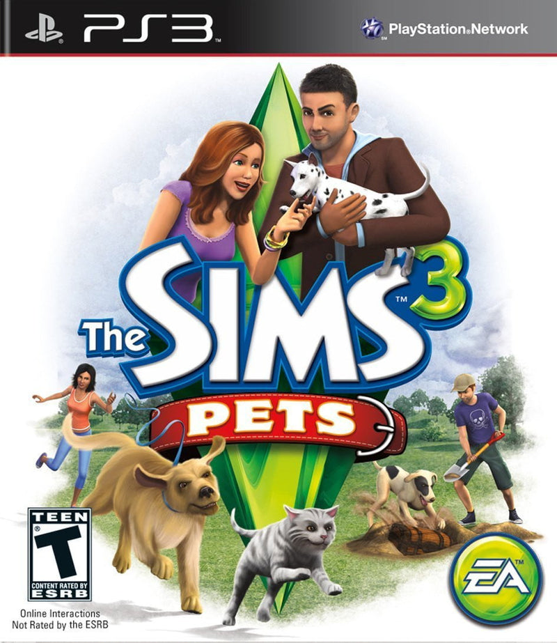 Shamy Stores The Sims 3 Pets (PS3) PS3 Game ShamyStores ShamyStores egypt