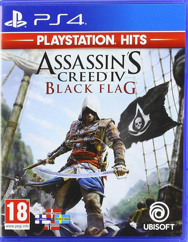 Shamy Stores Assassin's Creed Black Flag (PS4) Used PS4 Game Ubisoft Ubisoft egypt
