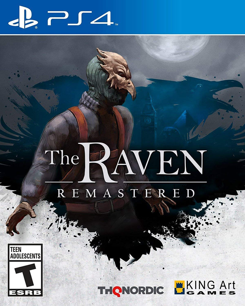 Shamy Stores The Raven HD (PS4) PS4 Game THQ Nordic THQ Nordic egypt