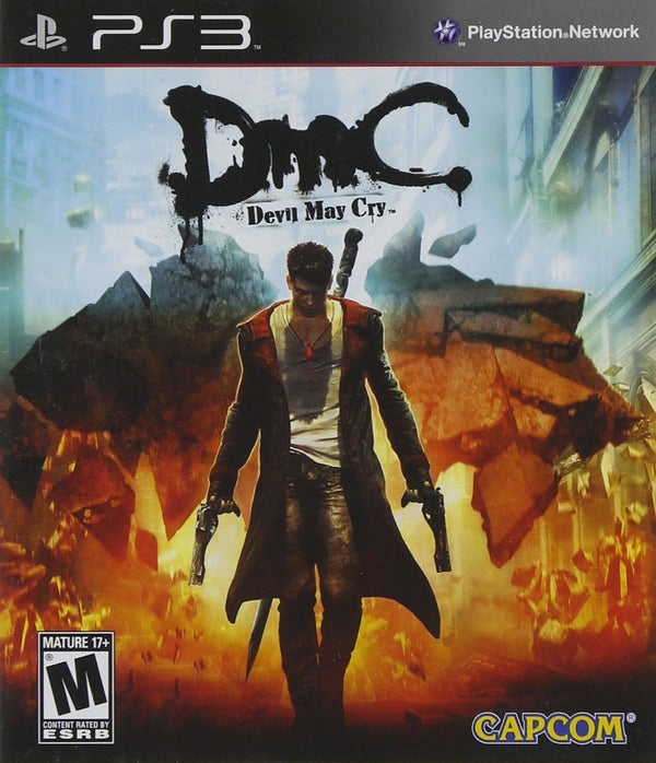 Buy DMC: Devil May Cry (PS3) PS3 Game in Egypt - Shamy Stores