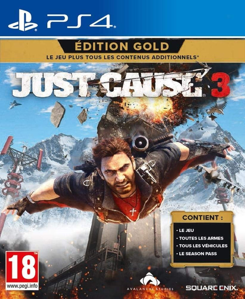 Shamy Stores Just cause 3 Gold Edition (PS4) PS4 Game Square Enix Square Enix egypt