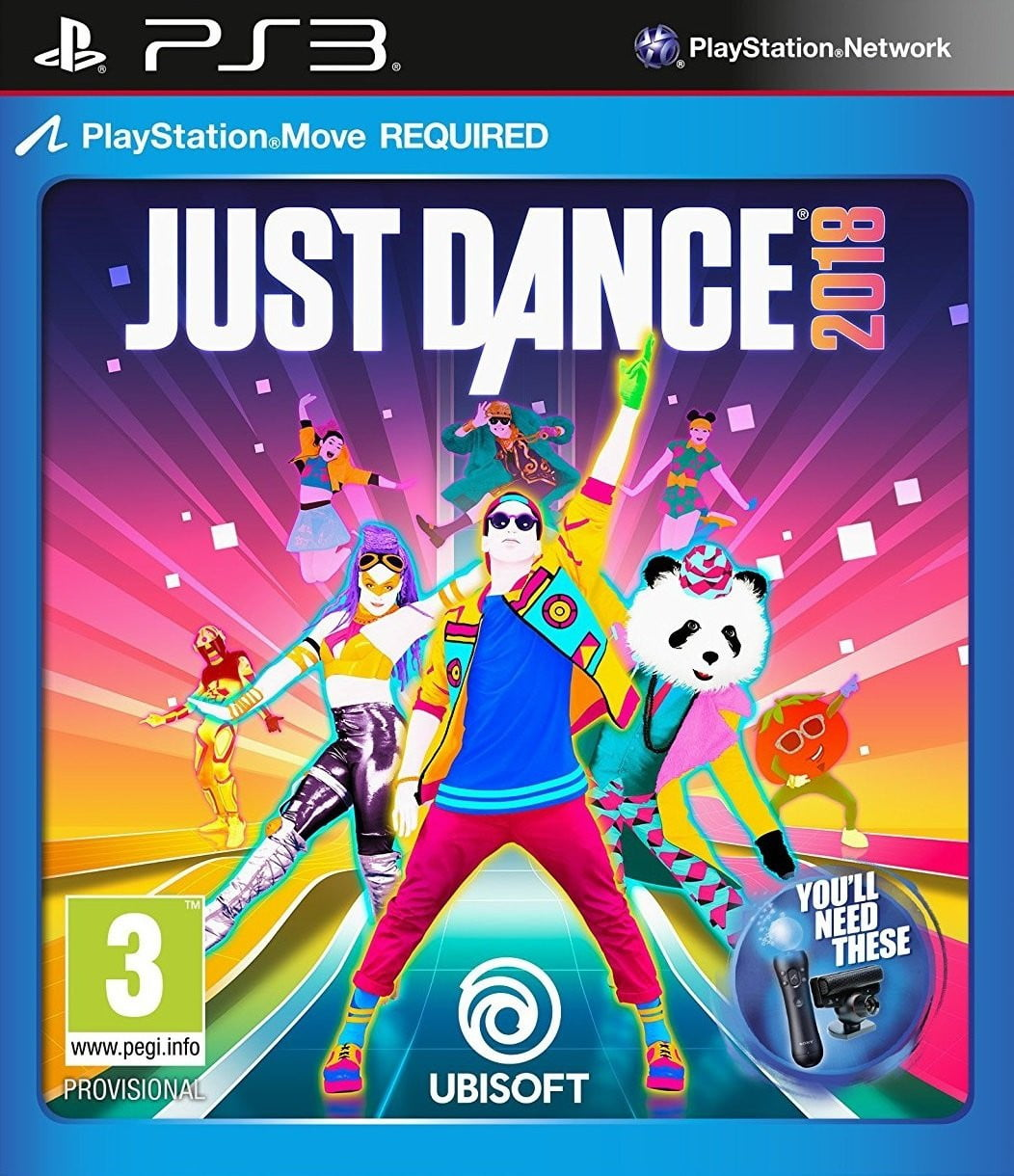 Buy Just Dance 2018 (PS3) PS3 Game in Egypt - Shamy Stores