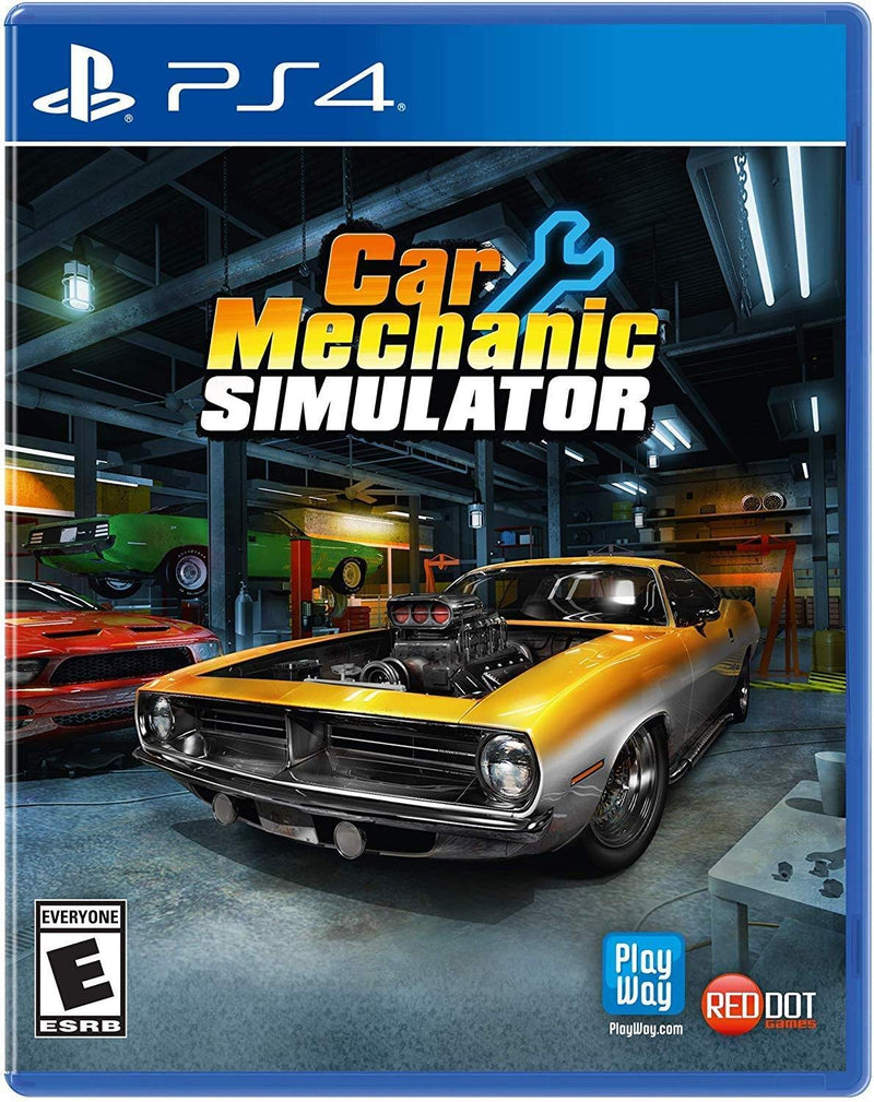 Shamy Stores Car Mechanic Simulator (PS4) PS4 Game Maximum Games Maximum Games egypt