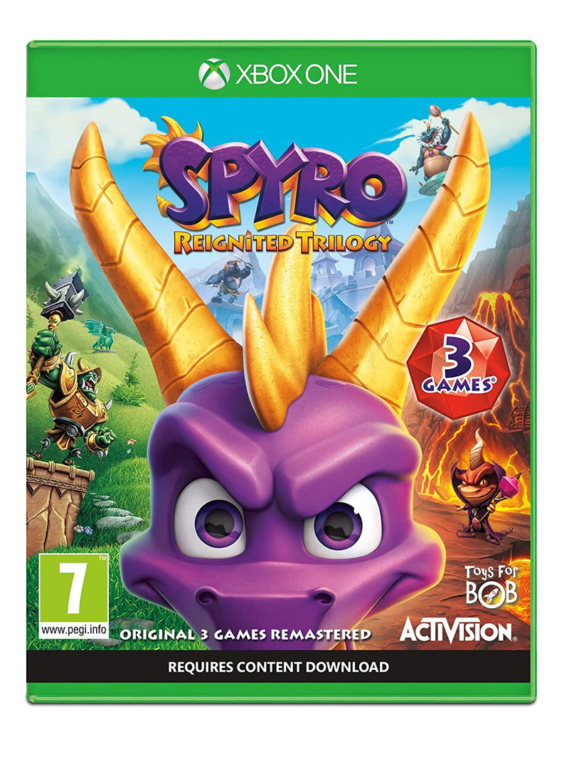 Spyro Trilogy Reignited (Xbox One) Used