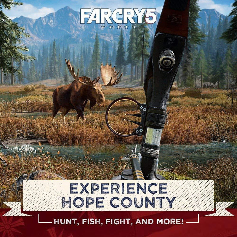 Buy Far Cry 5 (XBOX ONE) XBOX ONE in Egypt - Shamy Stores