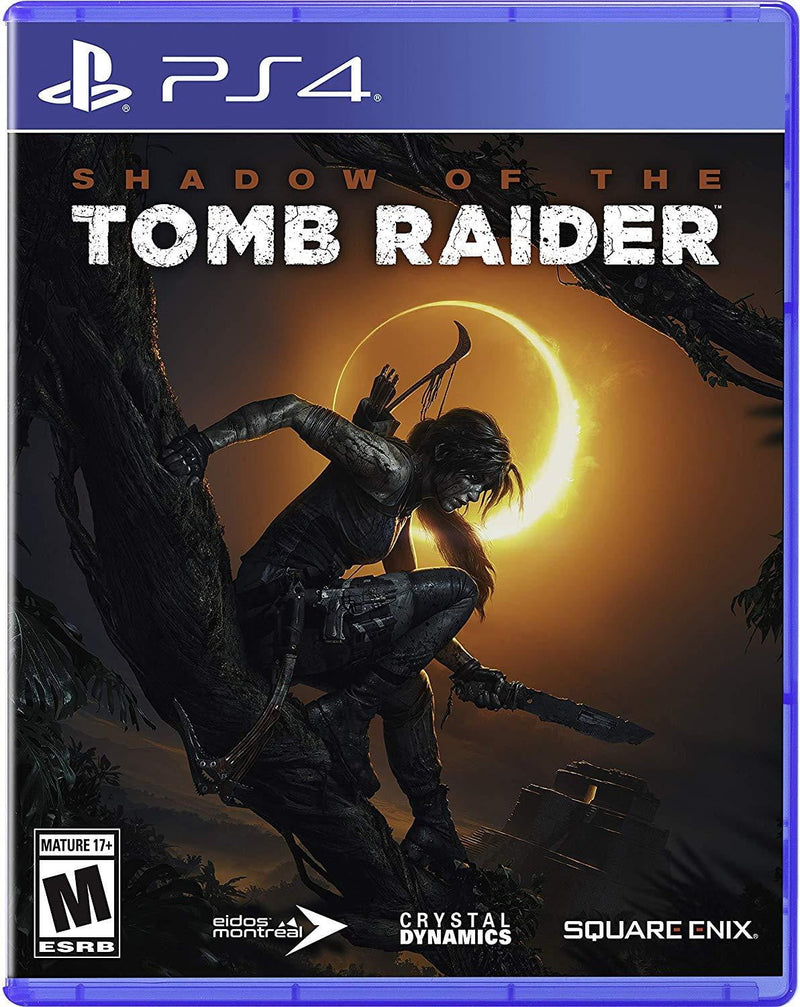 Shamy Stores Shadow of The Tomb Raider (PS4) Used PS4 Game Square Enix Square Enix egypt