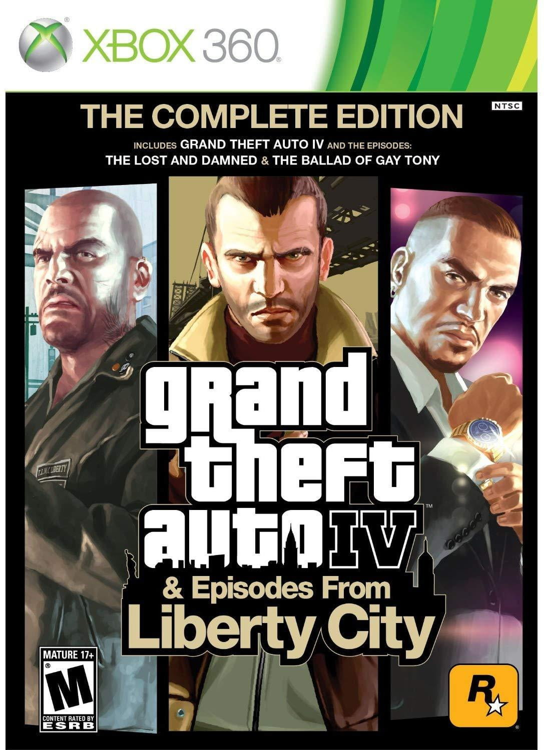 Buy GTA IV Liberity City (XBOX 360) XBOX 360 Game in Egypt - Shamy Stores