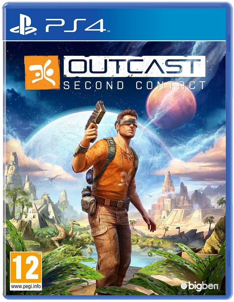 Shamy Stores Outcast: Second Contact (PS4) PS4 Game Maximum Games Maximum Games egypt