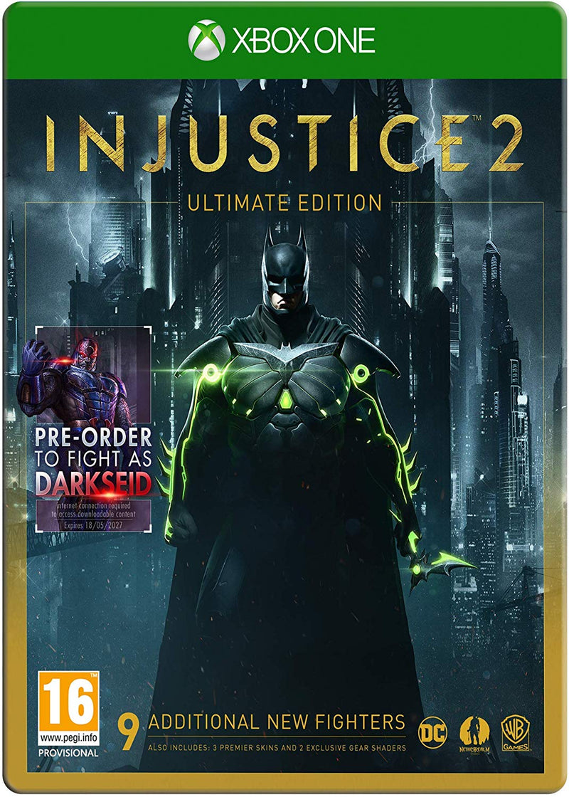Shamy Stores Injustice 2 Ultimate Edition (Xbox One) XBOX ONE Warner Bros. Warner Bros. egypt