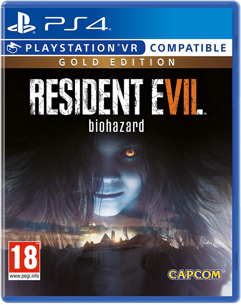 Shamy Stores Resident Evil 7 Gold Edition (PS4) PS4 Game Capcom Capcom egypt
