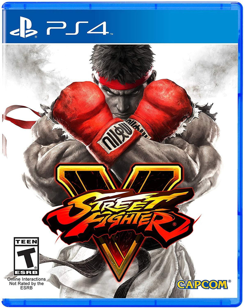 Shamy Stores Street fighter V (PS4) PS4 Game Capcom Capcom egypt