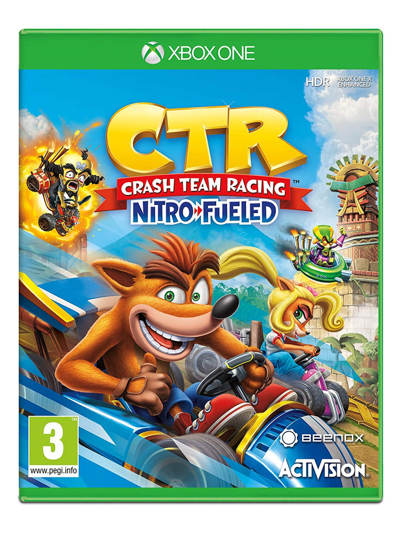 Crash Team Racing Nitro-Fueled (Xbox One) Used