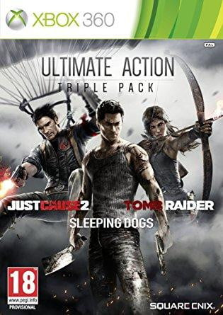 Ultimate Action Triple Pack XBOX 360 Game - Shamy Stores